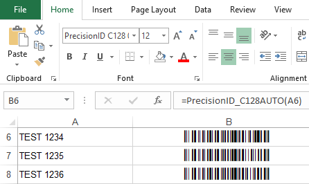 Barcode Software, Barcode Fonts and Components by PrecisionID
